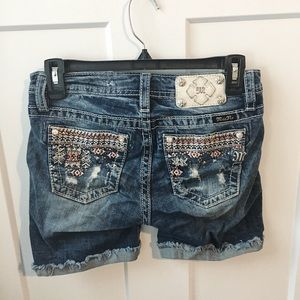 ➡️ NEED TO GO! • miss me • jewel jean shorts